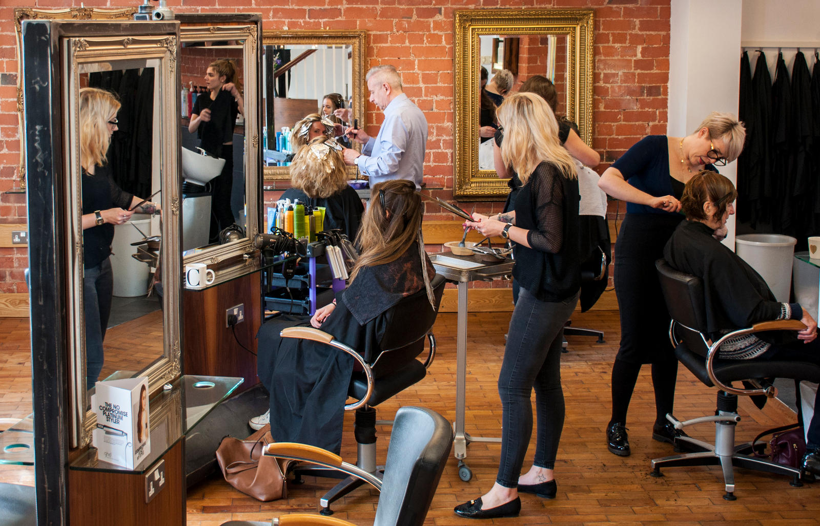 Arena Hair Hucknall Salon Interior